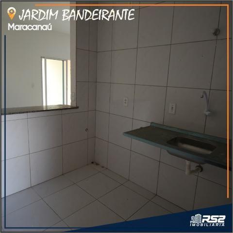 Casa Plana de 3 Quartos - Jardim Bandeirante - Documentos Inclusos - Foto 5