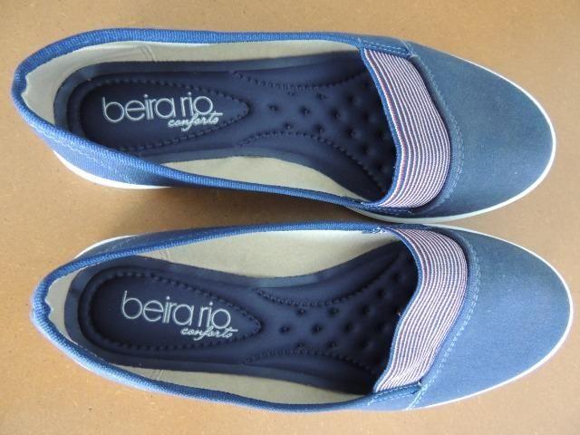 Sapatilha Azul Beira-Rio Conforto - Foto 2