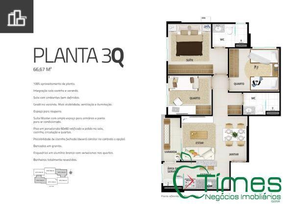 Apartamento  com 3 quartos - Bairro Setor Pedro Ludovico em Goiânia - Foto 15