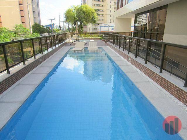 Apartamento com 3 dormitórios para alugar, 92 m² por R$ 2.100/mês - Papicu - Fortaleza/CE - Foto 3