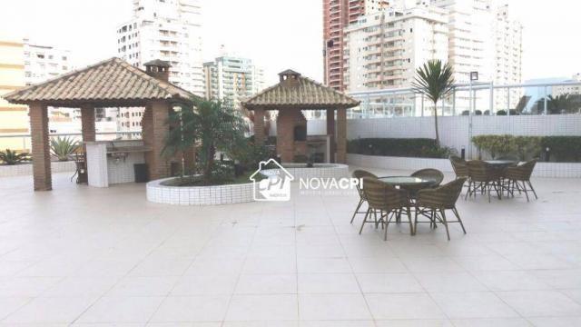 Apartamento para alugar, 123 m² por r$ 4.000,00/mês - aviação - praia grande/sp - Foto 12