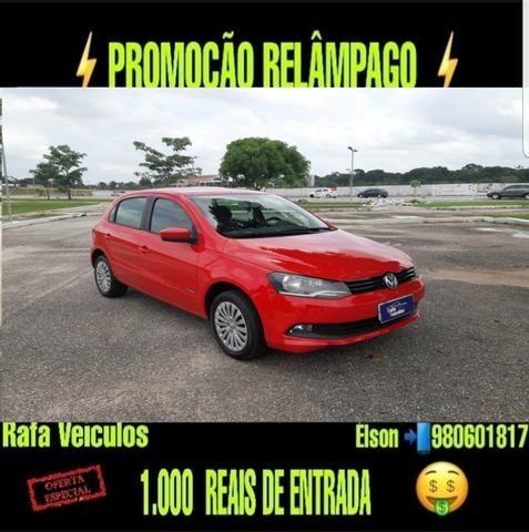 Mega promoção gol 1.0 itrend 2013 com r$ 1.000 mil de entrada