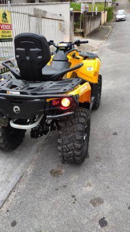 Quadriciclo can am 650cc ano 2015 - Foto 4