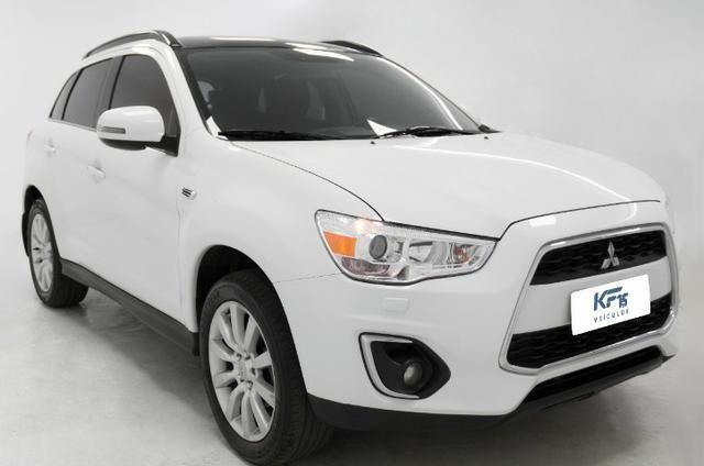 Mitsubishi ASX 2.0 4X4 AWD 2014 Branco Automático Completo