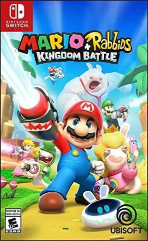 Jogo Mario + Rabbids Kingdom Battle Nintendo