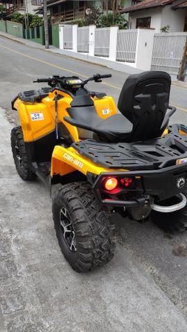 Quadriciclo can am 650cc ano 2015 - Foto 3