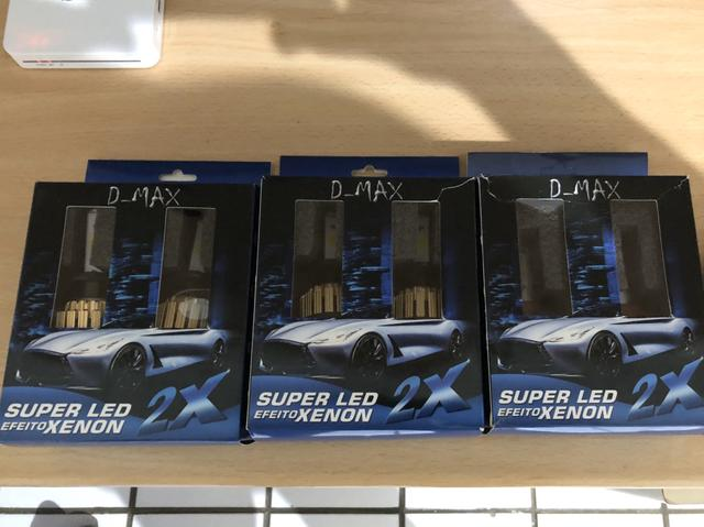 Vendo kit lâmpada led H7 de 6000K