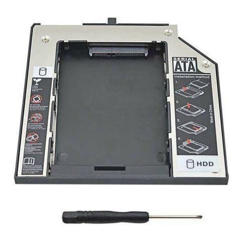 Adaptador Dvd P/ HD Ou SSD Sata Para Notebook - Foto 2