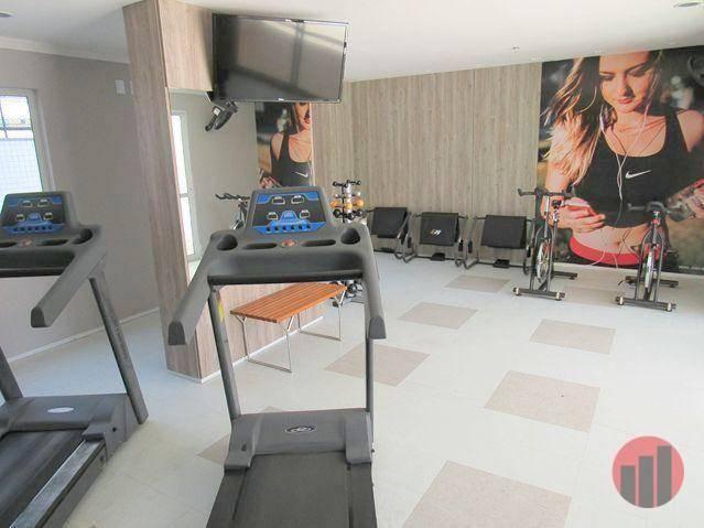 Apartamento todo mobiliado com 2 dormitórios para alugar, 57 m² por R$ 2.000/mês - Cidade  - Foto 9