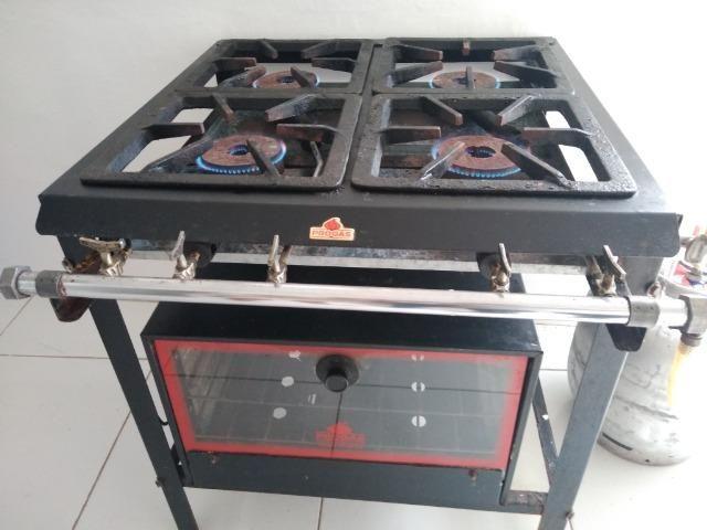 Fogão industrial com forno Progás - Foto 2