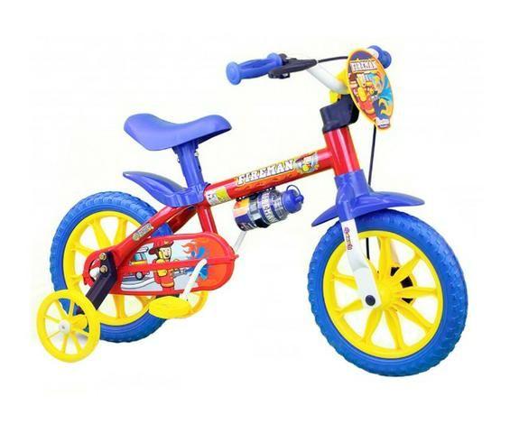 Bicicleta aro 12 fem e masc Nathor - Foto 5