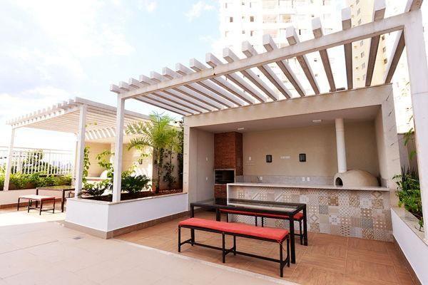 Apartamento  com 3 quartos no Conquist Residencial - Bairro Parque Amazônia em Goiânia - Foto 8