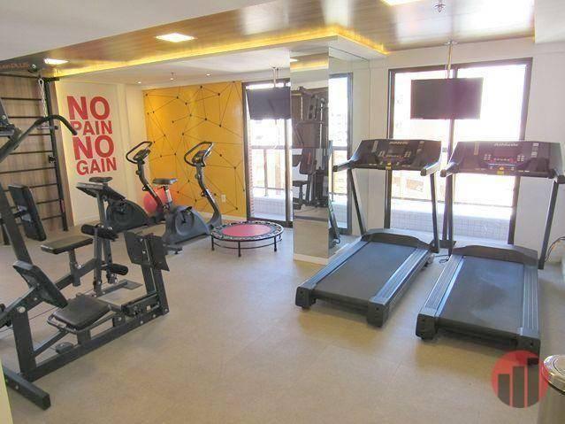 Apartamento com 3 dormitórios para alugar, 92 m² por R$ 2.100/mês - Papicu - Fortaleza/CE - Foto 7