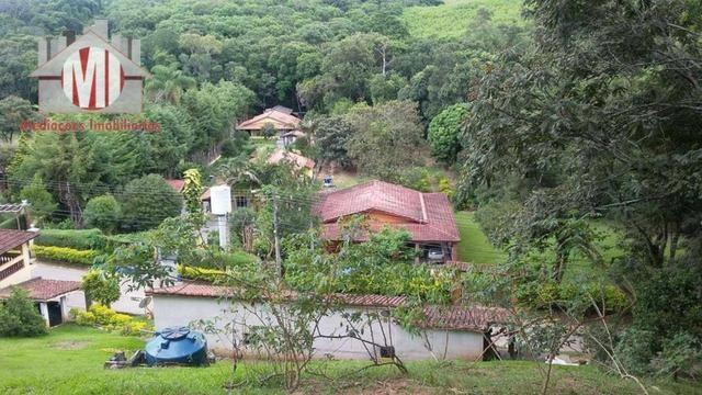 Chácara com escritura, 1450 metros, 02 dormitórios, acesso asfaltado - Foto 8