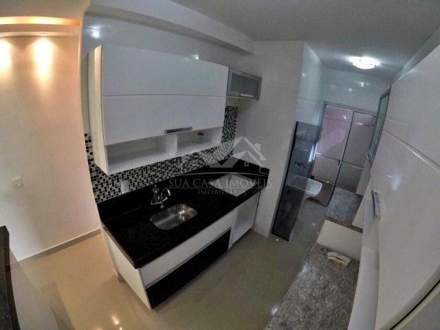 WC - Apartamento no porcelanato mais quintal privativo - ES - Foto 2