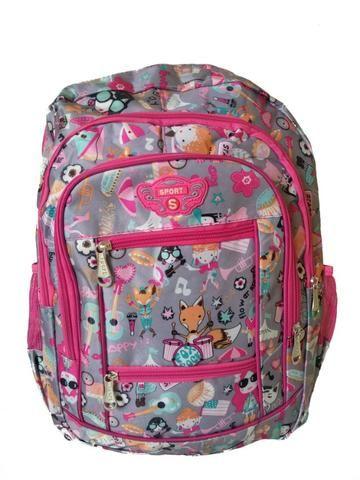 Mochila Bolsa Feminina EscolaR Viagem Resistente - Bolsas, malas e ... 568583d192
