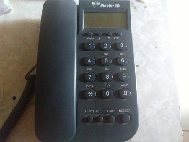 Telefone fixo com ID