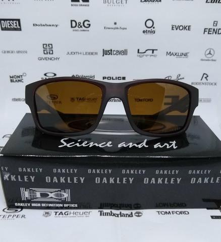 9008f96885a03 Óculos de sol Oakley Jupiter Squared Marrom 100% Polarizado Novo ...