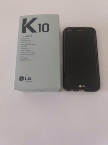 Vendo LG K10 32 gigas nota fiscal.