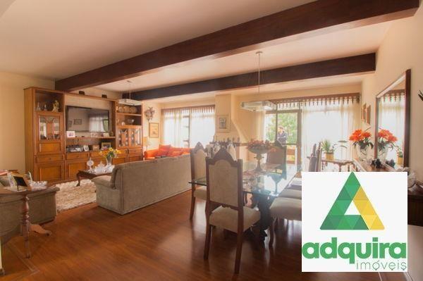 Casa com 4 quartos - Bairro Jardim Carvalho em Ponta Grossa - Foto 9