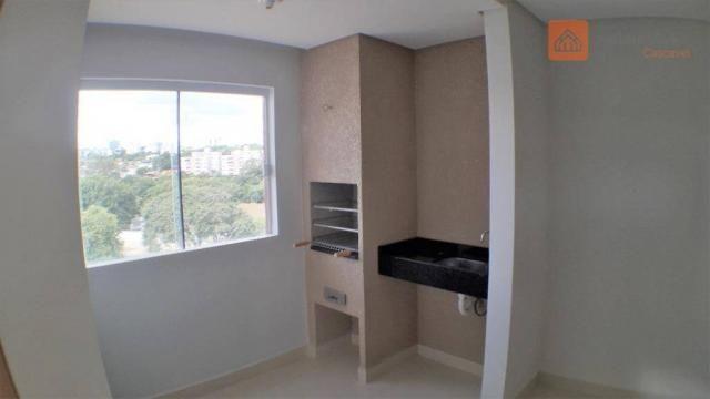 Apartamento com 2 Quartos, Churrasqueira, Para Alugar no Pioneiros Catarinense. - Foto 13