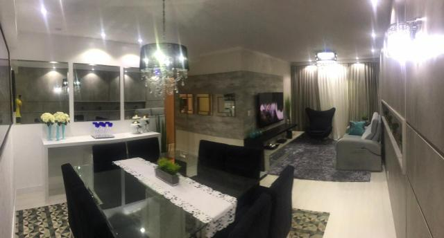 Apartamento todo mobiliado Ed Guiomar Rezende suíte+2quartos - Foto 14