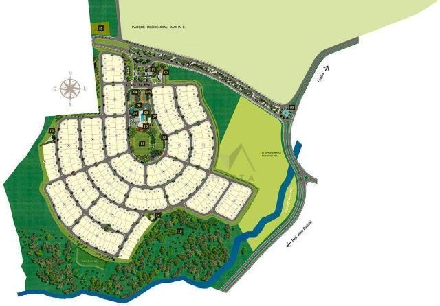 Terreno à venda, 486 m² por R$ 390.000,00 - Parque Residencial Damha IV - Presidente Prude - Foto 2
