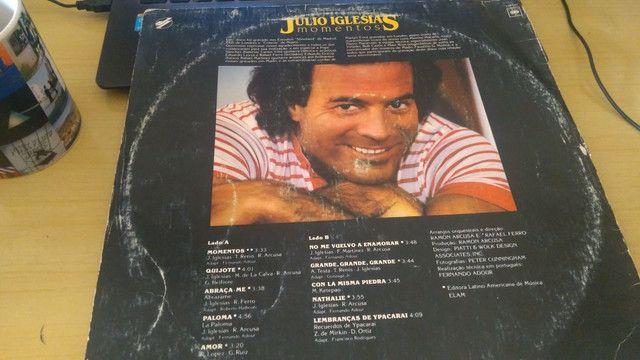 Disco de vinil Julio Iglesias