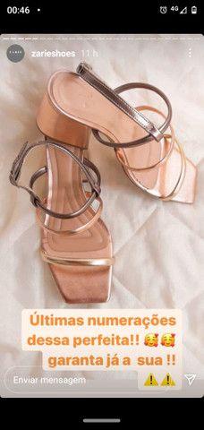Sandálias luxo - Foto 6