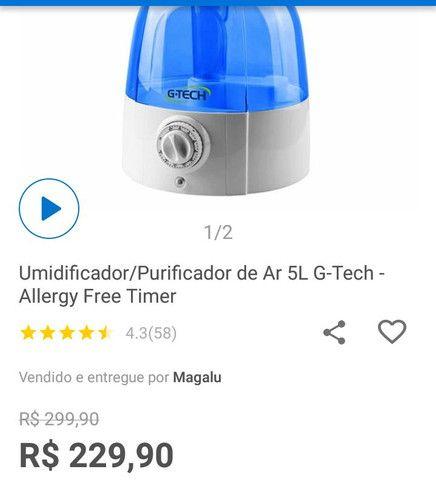 Umidificador/purificador na garantia - Foto 2
