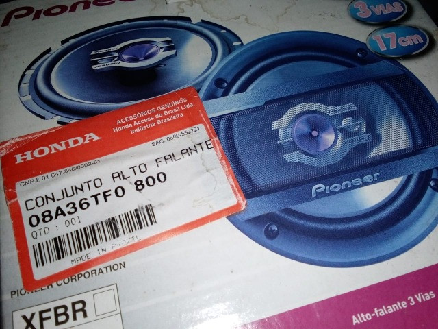 Kit autofalante do honda fit 2009 2010 2011 2012 2013 2014 - Foto 4