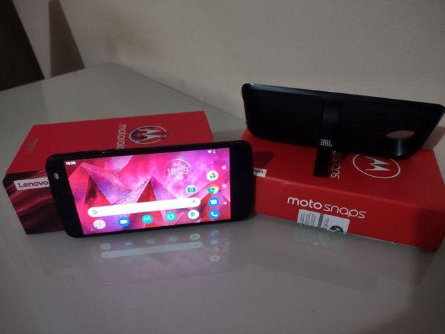 Celular Motorola Z² Force + Snap JBL c/ Bateria e tela na garantia - Foto 3