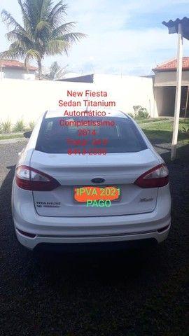 New Fiesta Sedan Titanium Automático  - Foto 5