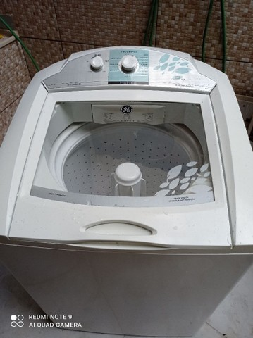Máquina de lavar GE para retirada de peças