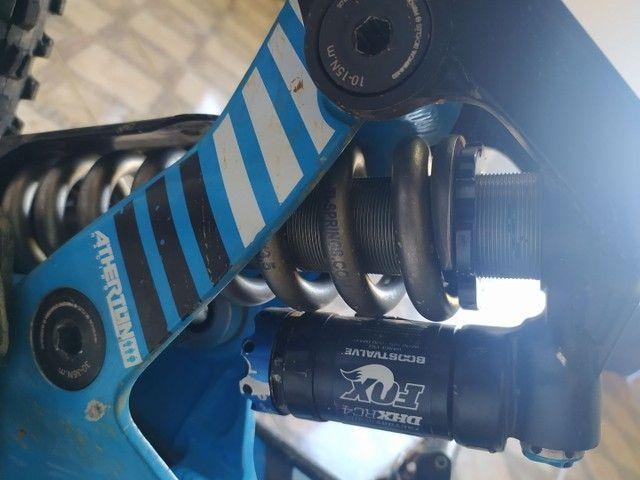 SHOCK FOX DHX RC4 240 mm com mola de TITÂNIO
