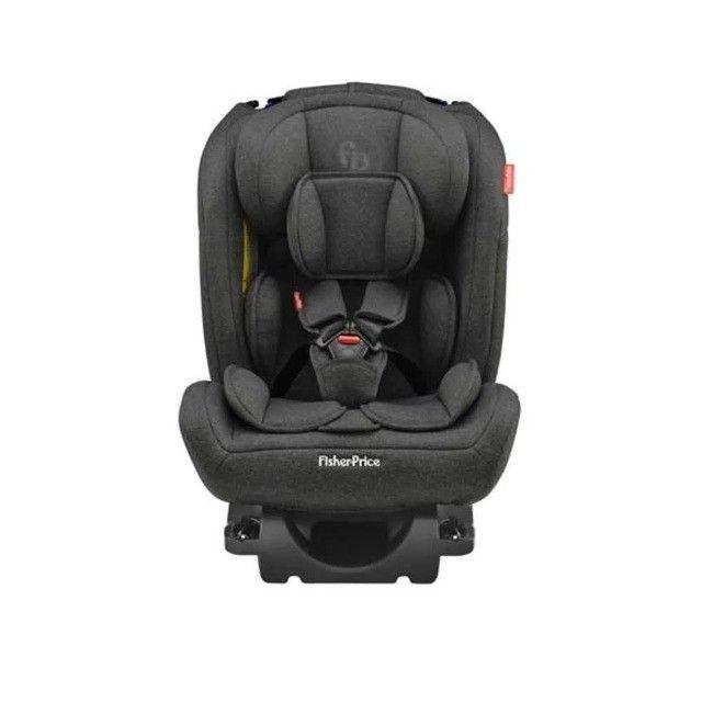 Fisher Price Cadeira Para Auto All Stages Isofix 36 Kg Preto - Foto 3
