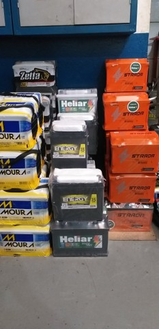 Bateria Moura 60ampéres 350,00 2 anos de garantia - Foto 6