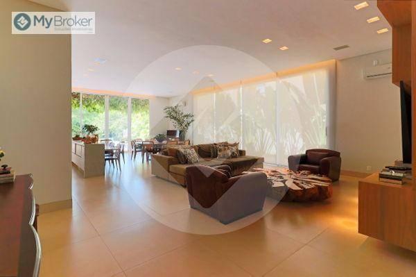 Casa com 4 dormitórios à venda, 576 m² por R$ 5.200.000,00 - Residencial Alphaville - Goiâ - Foto 8