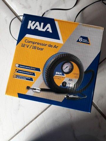 Compressor 12v para Carro ou moto - Foto 4
