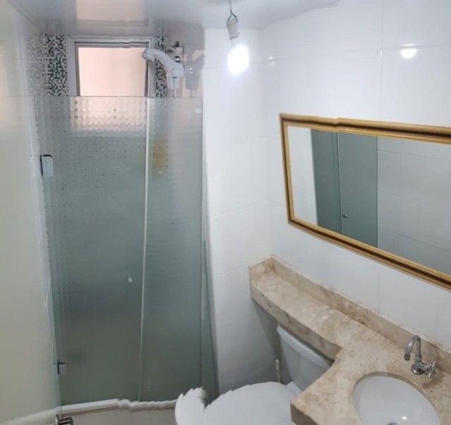 Apartamento com 3 quartos semi mobiliado no_Fazendinha - Foto 8