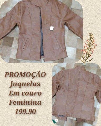 Jaquetas em couro legítimo fem