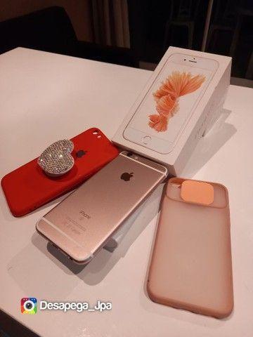 Iphone 6s 64 Gb impecável aceito trocas  - Foto 4