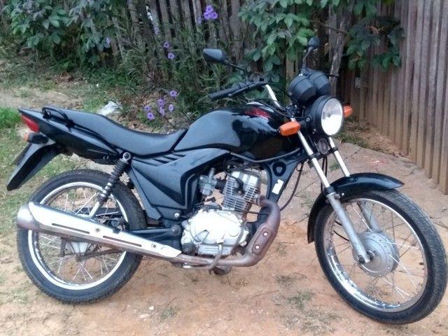 Vendo uma Honda fan ou troco por moto de maior cilindrada - Foto 4
