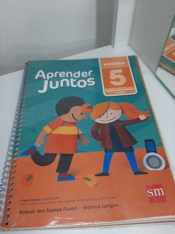 Vendo livros didáticos seminovos 5° e 6° ano  - Foto 3