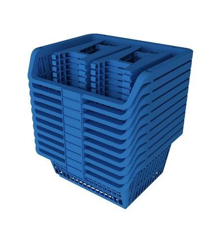 Cesto Expositor Prático Azul - Presto - Foto 3