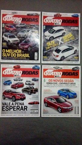 Revista Quatro Rodas Ano 2015 + Brindes - Foto 2