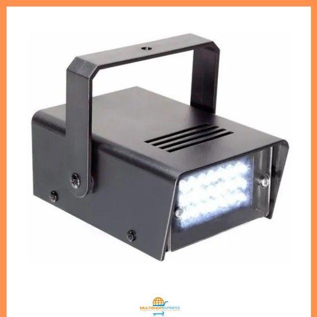 Mini Strobo Flash Projetor de Luz para Festas Balada DJ - Foto 3