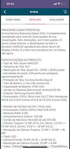 Vendo Samsung s10+