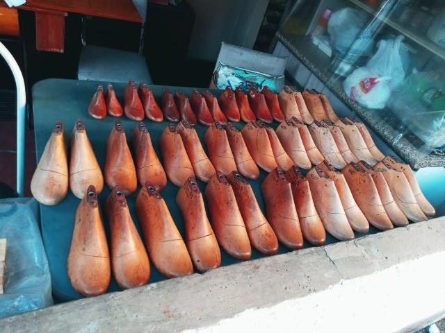 Formas de sapato em madeira  - Foto 2