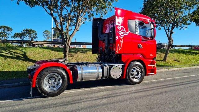 Scania R 440 4x2 Toco Automático Completo 2015 Rodas de Alumínio Fino Trato - Foto 8